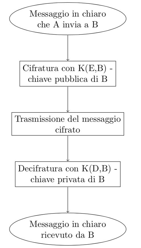 Schema procedura RSA