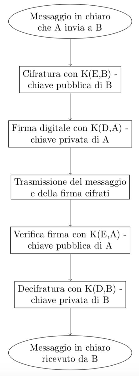 Schema RSA con firma