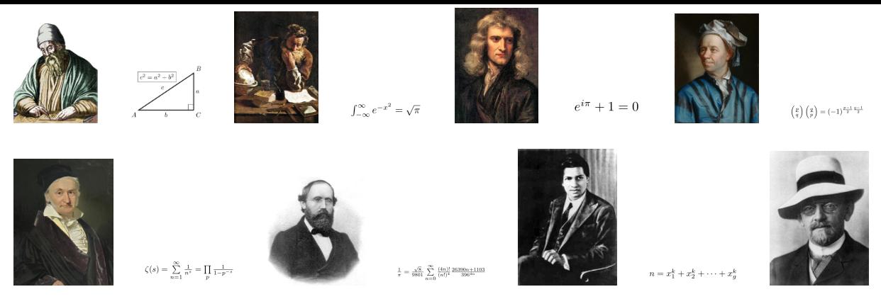 Matematici e formule