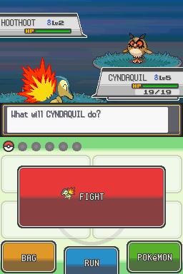Pokémon screenshot