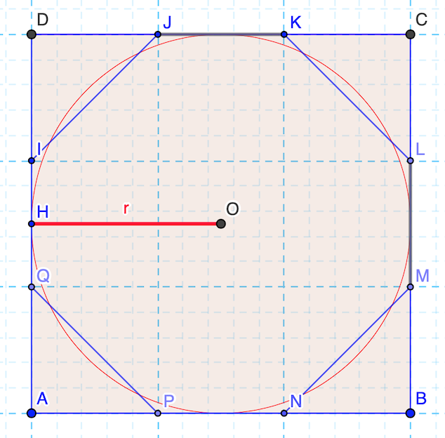 Calcolo di pi greco (Egizi)